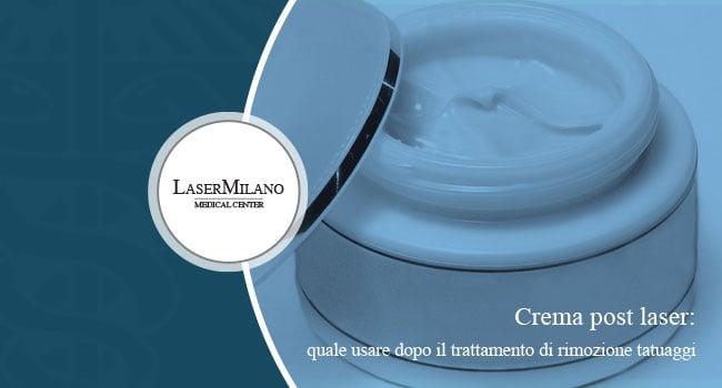 crema lenitiva post laser quale scegliere